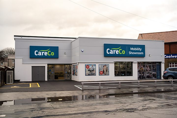 CareCo mobility showroom Preston Pic: CareCo