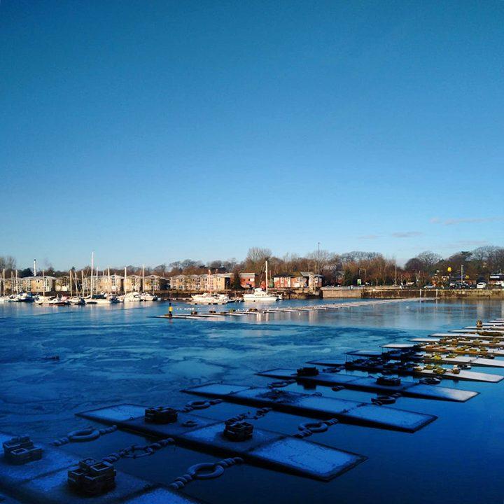 Frozen Docks Pic: @edwalker86