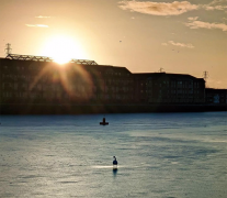 Frozen Preston Docks Pic: @canonsnapz