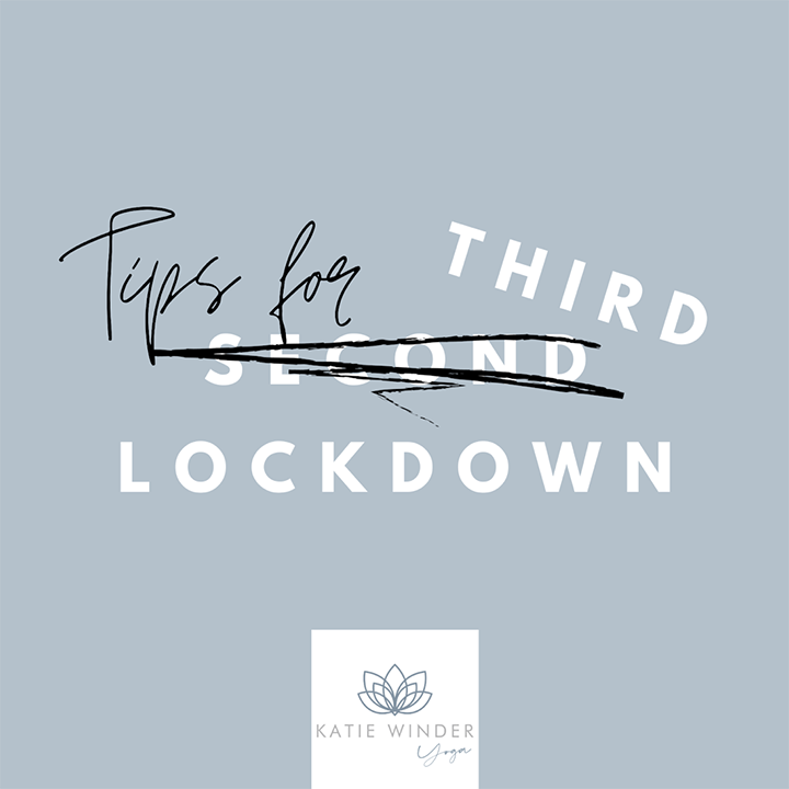 Tips for third lockdown Pic: Katie Winder Yoga