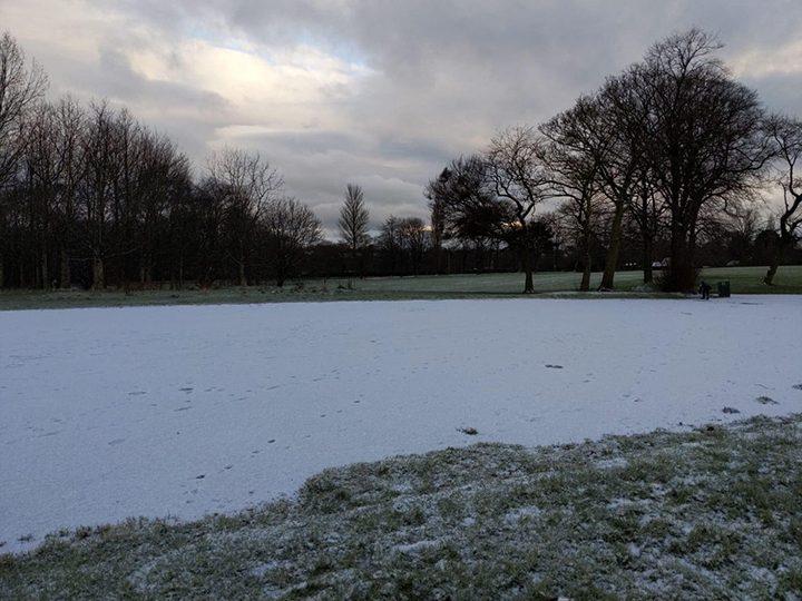 Moor Park snow Pic: Oli Laura