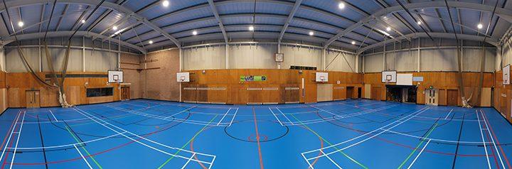 Penwortham Priory Academy sports hall