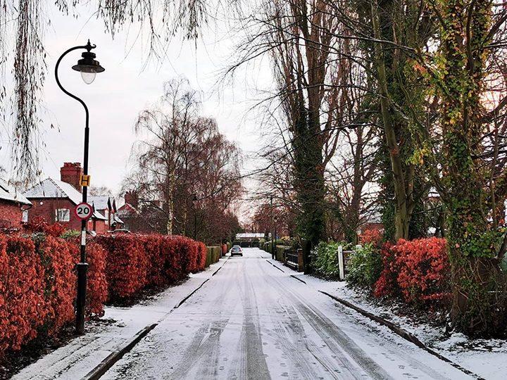 Penwortham snow Pic: @janette__hall