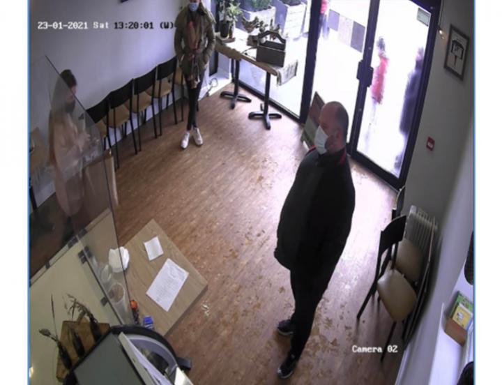 CCTV picture of Preston con-man. Pic: The Cow Shed