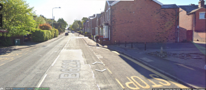 Harpers Lane, Chorley where the incident took place. Pic: Google street view