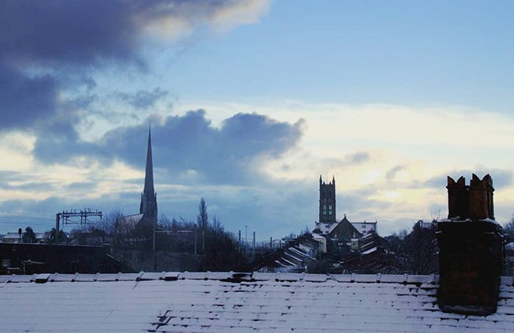 Snowy rooftops Pic: @tony_worrall_photography