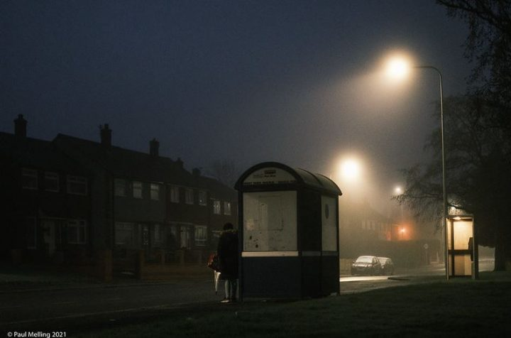 A foggy January morning in Preston Pic: Paul Melling
