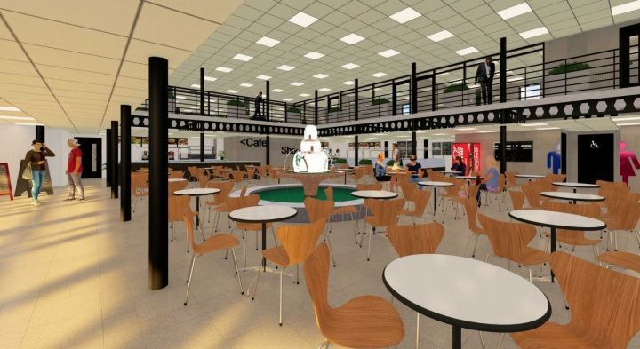 A cafe inside the Pioneer Education Centre Pic: MCK Commercial Design