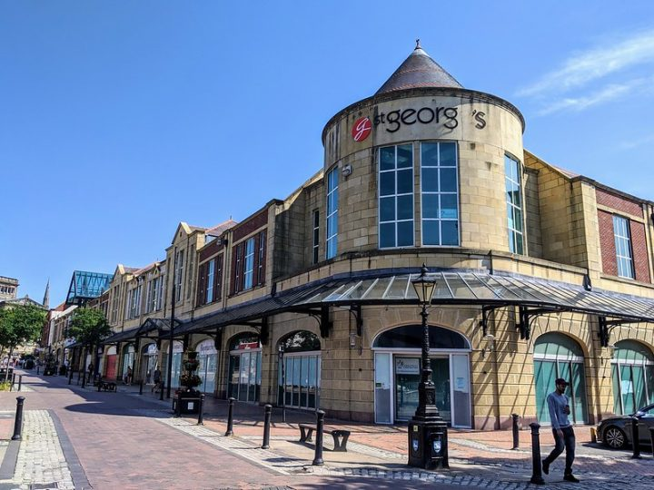 St George's Shopping Centre facing into Friargate Pic: Tony Worrall