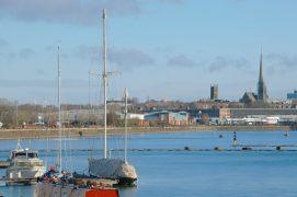 Preston's skyline over the Docks Pic: Tony Worrall