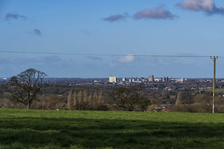 Preston's skyline as viewed from Oram Road Pic: Mick Gardner