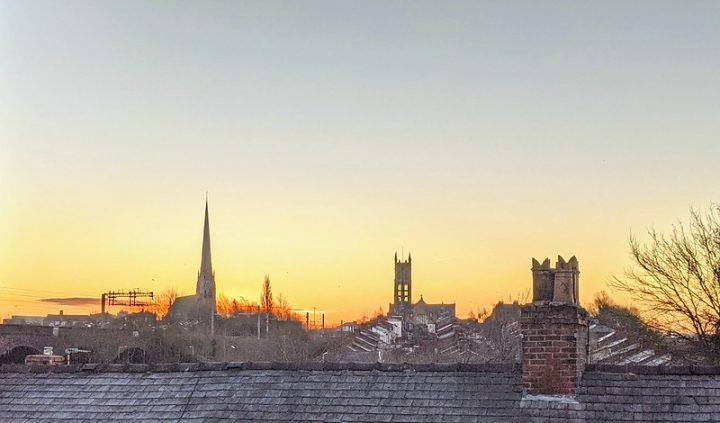 A bitterly cold morning in Preston on Thursday 11 February Pic: Tony Worrall