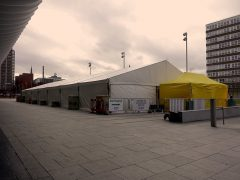 The mass vaccination hub in Preston city centre Pic: 70023venus2009