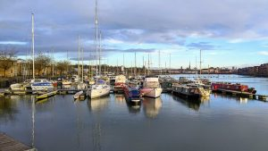 Boats on Preston Marina Pic: Tony Worrall