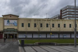 Preston's mass vaccination centre within the St John's Shopping Centre Pic: Mick Gardner