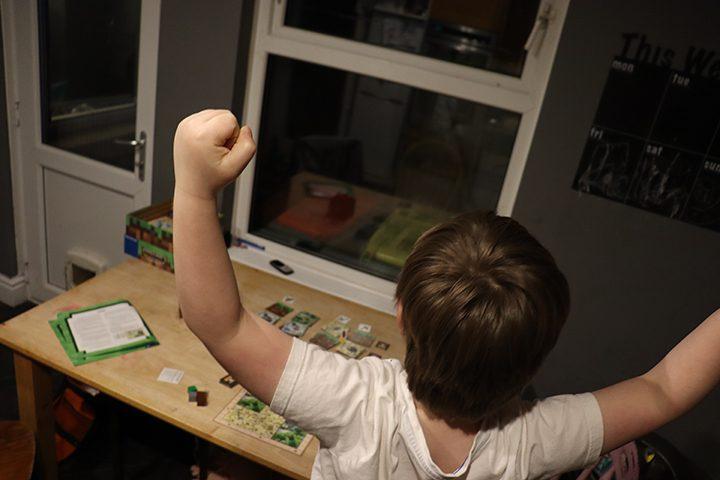 Board game winner Pic: Daniel Burt