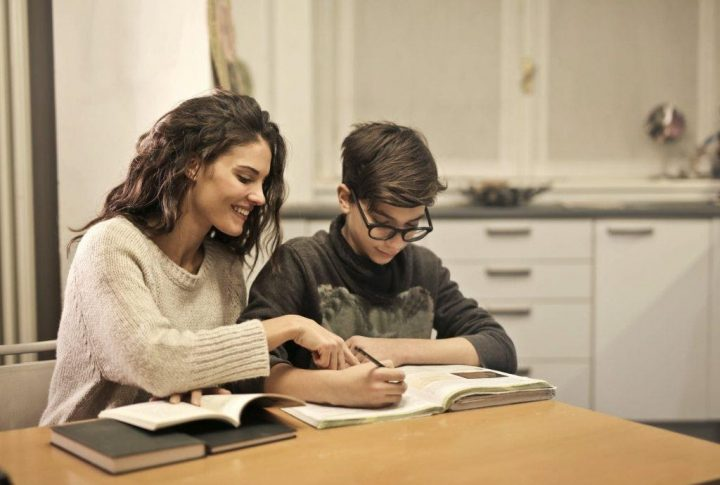 Foster carer and child Pic: Excel Fostering