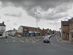 New Hall Lane near the junction with Blackpool Road and Brockholes Brow Pic: Google
