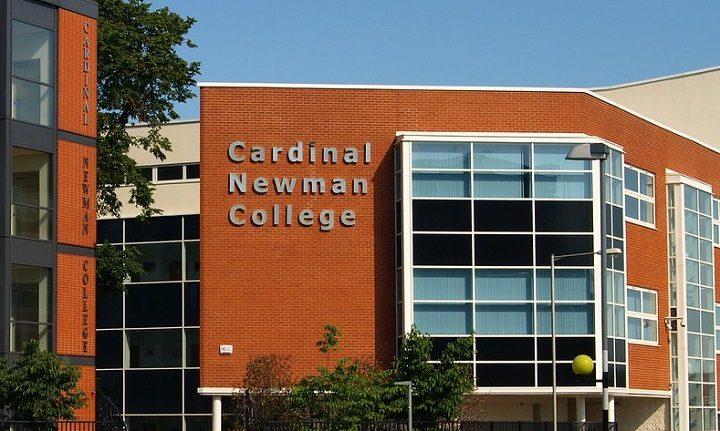 Cardinal Newman College in Preston Pic: Tony Worrall