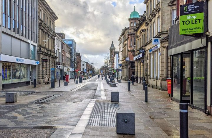 Looking down Fishergate in Preston city centre Pic: Tony Worrall