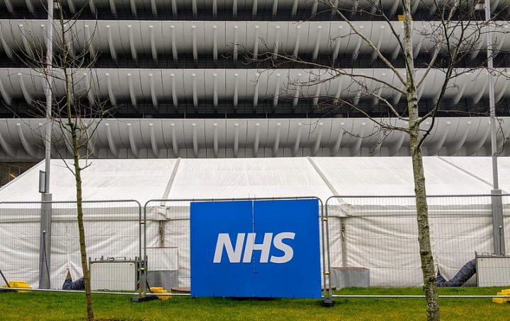 The Covid vaccination queuing area outside Preston Bus Station and opposite the NHS hub in St John's Pic: Tony Worrall