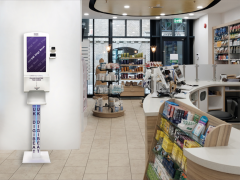 DigiBeat portals include advertising and sanitisation facilities