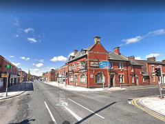 Junction of New Hall Lane and Acregate Pic: Google