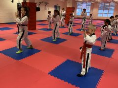A class at Nippon UK Martial Arts