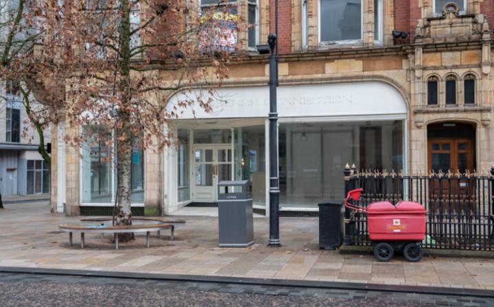 Preston's empty shops. Pic: Lee Sutton