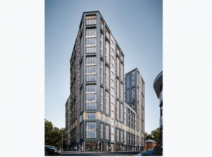 Proposed look of The Exchanged. Pic: Heaton Group