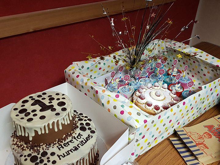 Preston Here For Humanity birthday cakes