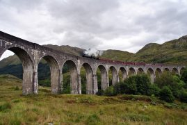 Harry Potter Train Hogwarts Express. Pic: Javipolinario