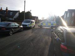 Emergency services at Black Bull Lane