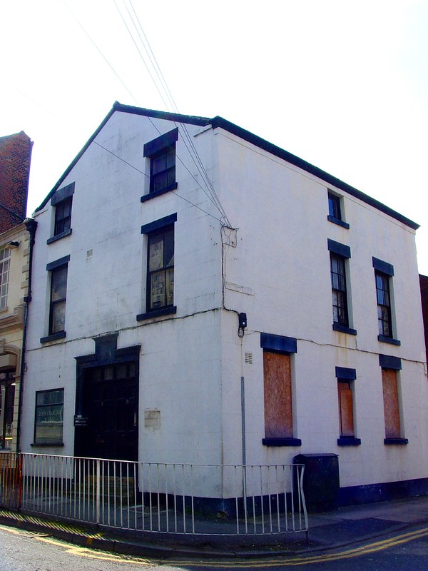 3 Fox Street pictured empty in 2008 - the building has struggled to find a buyer Pic: Tony Worrall