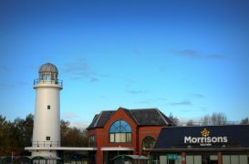 Morrison's supermarket at Preston Docks Pic: Tony Worrall