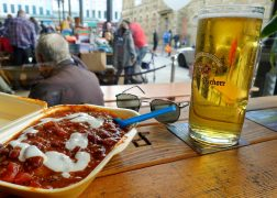 An outdoor pint and food is allowed again from 12 April Pic: Tony Worrall