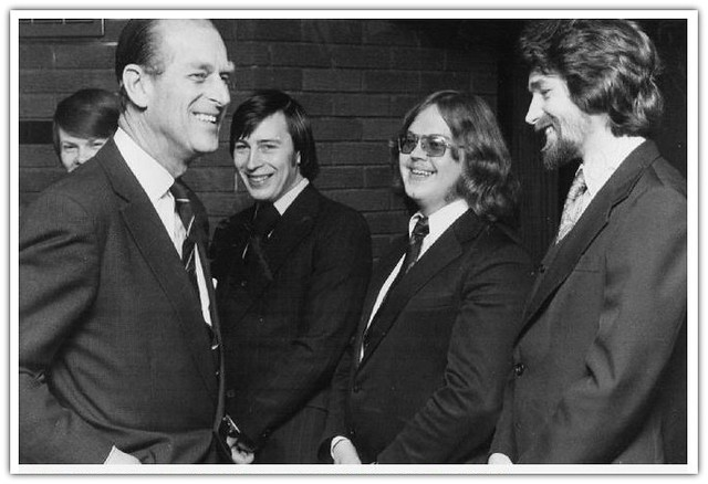 Prince Philip opening the Preston Polytechnic (now UCLan) library in 1979 Pic: Preston Digital Archive