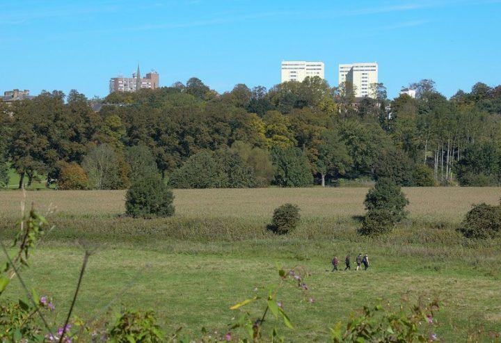 Looking towards Preston from Penwortham Pic: Tony Worrall