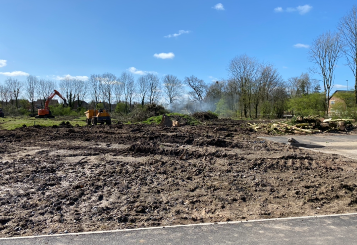 A photo sent to Blog Preston of the site.