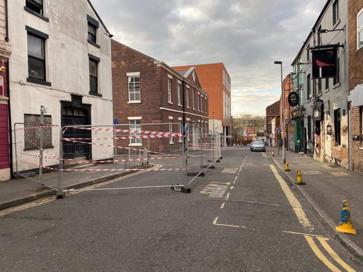 The unsafe building is at 3 Fox Street Pic: Preston City Council