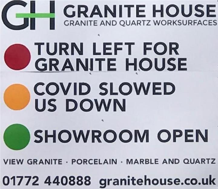 Granite House sign