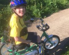 Luke Carter from Garstang completed a 30-day cycle challenge as part of the 2020 Ramble