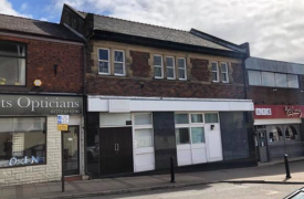 Former Leyland bank up for sale. Pic: Right Move
