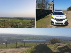Rivington Pike Pic: Chorley Police
