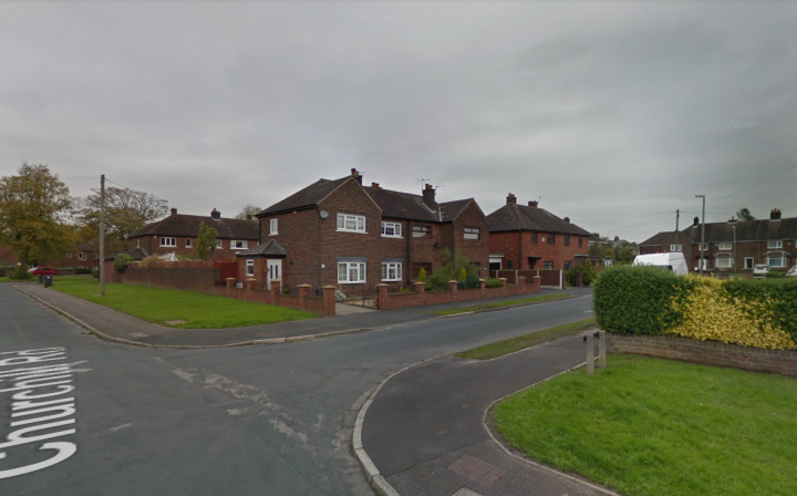Brierly Close where the incident took place on Easter Sunday Pic: Google