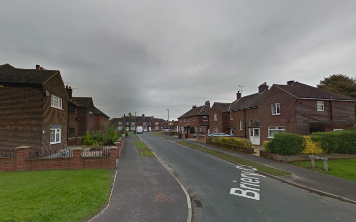 Briery Close - off Churchill Road and Watling Street Road - between Fulwood and Ribbleton Pic: Google