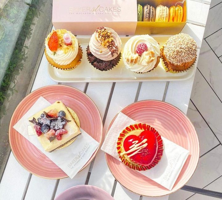 Some of the cakes the Baker Street bakery is planning to offer Pic: Baker Street