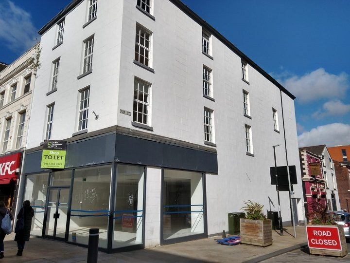 New apartments are planned within this building in Fishergate Pic: Blog Preston