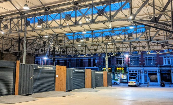 The Box Market in Preston city centre Pic: Tony Worrall