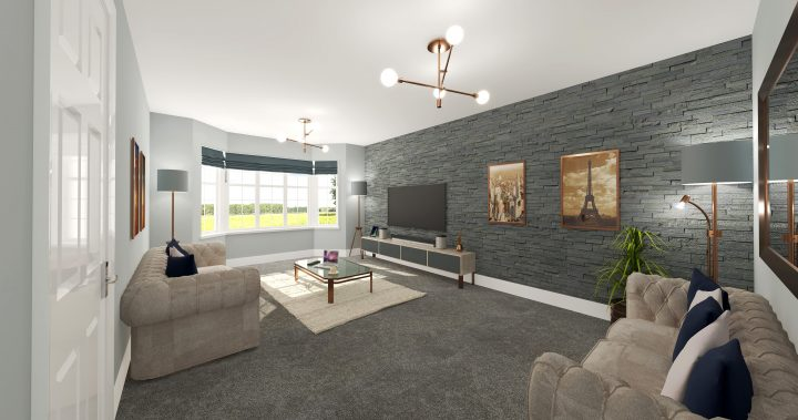 What the houses are expected to look like. Pic: Roxford Homes